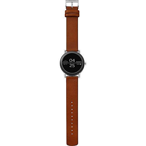Skagen Falster Brown Leather Smartwatch