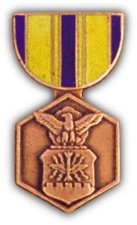 - US Air Force Commendation Medal Lapel Pin