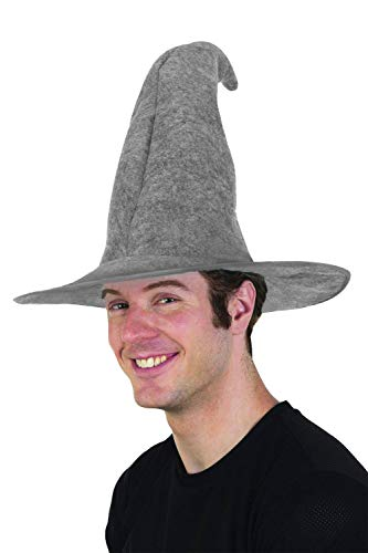 Gray Wizard Hat Adult Costume Accessory]()