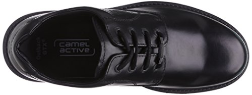 Cammello Entroterra Attiva Gtx 21 Uomini Derby Lace Up Brogue Nero (nero)