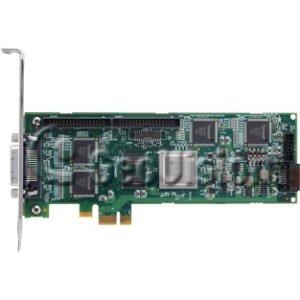GeoVision GV5016-16 Channel 480 fps @ D1 Hardware-Compressed DVR Card: PCI-E, Type LFH, DVI, 3yr warranty