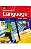 Holt Elements of Language: Second Course, Grade 8