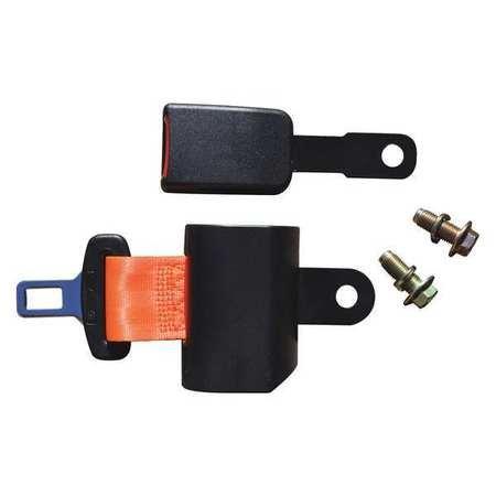 Forklift Seat Belt, Safety Orange