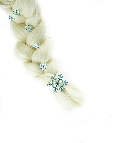 Frozen Princess Snow Queen Elsa Hairpins Hair Clips Jewelry Hair Accessories by Cartoon Cosplay&Game Cosplay
