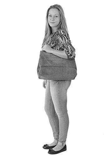 histoireDaccessoires - Bolso de Cuero de Mujer - SA138914GV-Sandro Beige