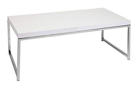 Work Smart/Ave Six OSP Furniture Wall Street Coffee Table - Geo Coffee Table