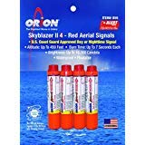 Orion Safety Products Skyblazer II Red Aerial Signal Kit -