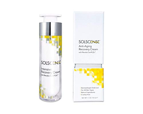 Solscense Recovery Cream - First to use PLE to Repair Sun Damage, Reduce Age Spots, Dark Circles, Wrinkles, and Fine Lines - Innovative Intensive Anti Aging Moisturizer, 1.7 oz