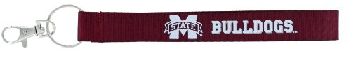 aminco NCAA Mississippi State Bulldogs Wristlet Key Ring
