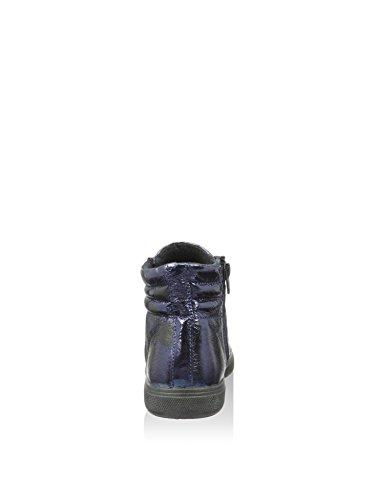 Cafè Noir PEK810228410 I15.228 BLU 41 sneaker in laminato stampato pois