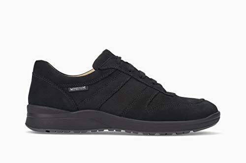 Mephisto Women's Rebeca Perf Sneakers Black Nubuck 7.5 M US