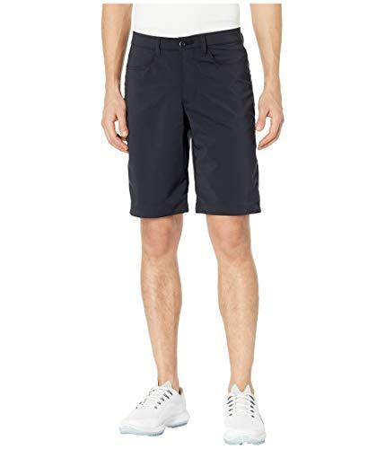 Under Armour Leaderboard Golf Shorts, Black (001)/Black, 38
