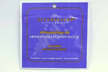 Natural Patches of Vermont Aromatherapy Body Patch - Relaxing Sleep Formula Essential Oil Patch (24per Case)