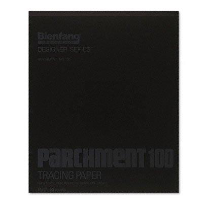Bienfang Parchment 100 Tracing Paper Pad 50 Sheet 14 x 17 4336943242 7908734