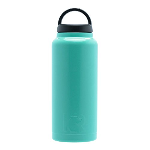 RTIC 223 Double Wall Vacuum Insulated Bottle, 36 oz, Teal