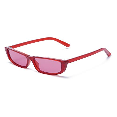 KOKMO-TYJ Retro Polarized Sunglasses for Classic Trendy Stylish Sunglasses for Men Women 685% UV Protection,Red Frame Rose Red - 685 Glasses