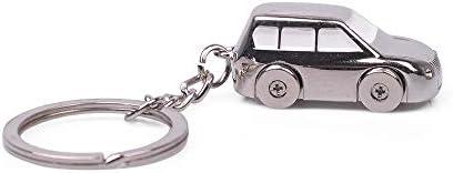 Jeep car shape Key Chain solid four wheel car Model keychain gift logo KeyChain