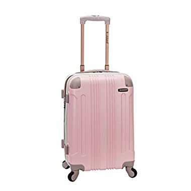 Rockland Melbourne 20 Inch Expandable ABS Carry On, Mint, One Size