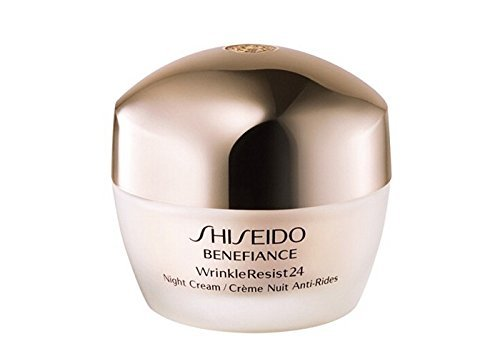 Shiseido Benefiance Wrinkleresist24 Night Cream - An Age-defying Nighttime Cream - 1.7 (Benefiance Wrinkleresist24 Night Cream)