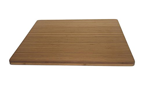 Bamboo Cutting Board - 24'' x 24'' x 1'' by JMX Bamboo