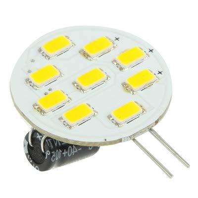 Car G4 Warm White 9 LED 5630 SMD Marine Cabinet Light Bulb Lights Bulbs DC 12V