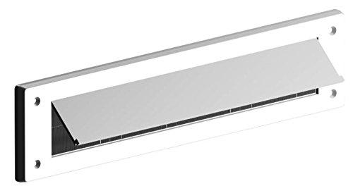 Bulk Hardware bh05982Buchstabe Briefkasten Bürste Zugluftstopper mit Klappe, 343x 80mm (13,1/5,1cm X 3.1/20,3cm)–Weiß Bulk Hardware Limited