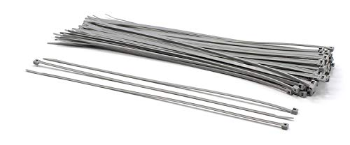 THE CIMPLE CO - 14 inch Grey Nylon Zip Ties : Strong Zip Tie