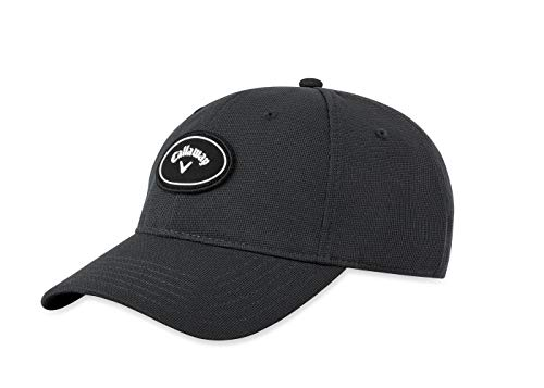 Callaway Golf 2019 Stretch Fitted Hat, Grey, Large/X-Large