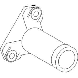 David Brown Elbow Exhaust External Fitting Muffler Part No: A-K952969