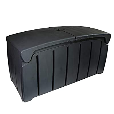 Charles Bentley 322L Waterproof Storage Box with Butterfly Lid Grey