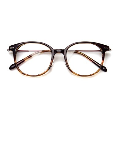 Komehachi - β-Titanium Ultra Light Wayfarer Clear Lens Eyeglasses Frames - Old School Eyeglasses
