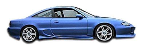 Duraflex Replacement for 1993-1997 Mazda MX-6 Vader Side Skirts Rocker Panels - 2 -