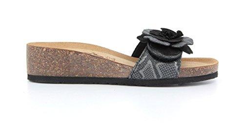 Bionatura Womens IMB Nero Ambra 12 Sandals Wedge xZ0wx