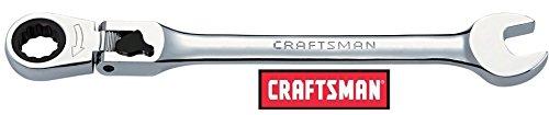 (Craftsman 10mm Locking Flex-Head Ratcheting Combination Wrench Full Polish 10mm 9-42478)