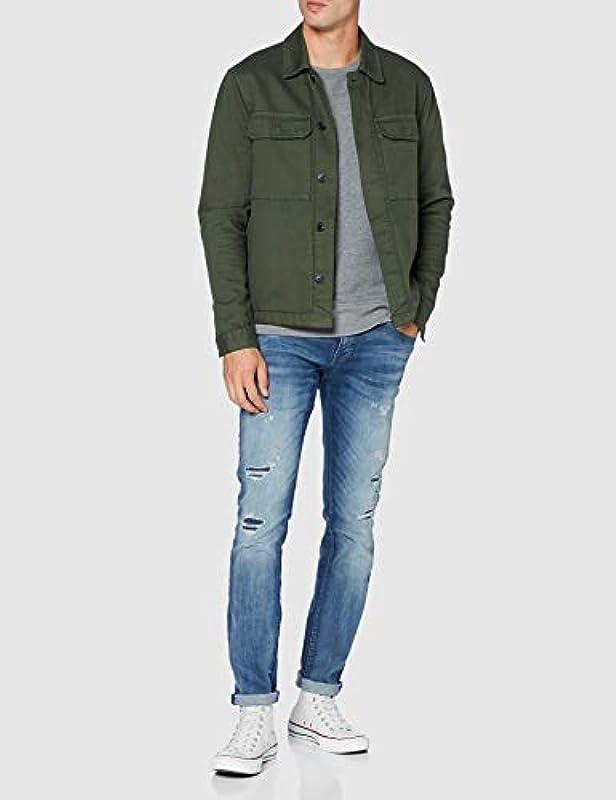 Antony Morato Męskie Geezer-Power Stretch Slim Jeans: Odzież
