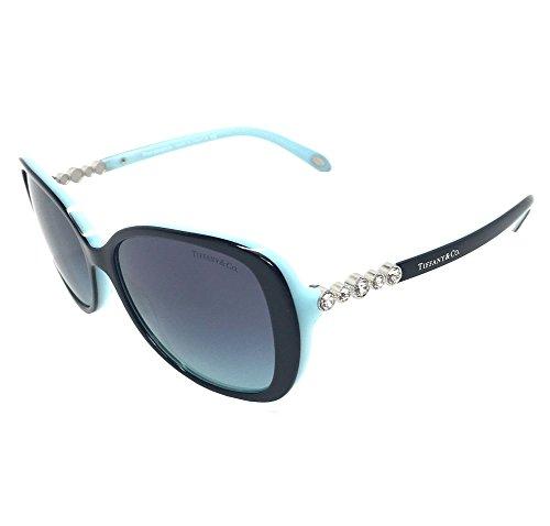 Tiffany & Co. Womens TF4121B 80559S Black Blue /Blue Gradient Sunglasses