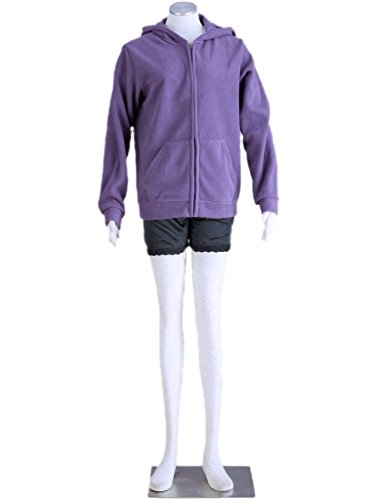 [Mufou Japan Anime Sailor Moon Luna Cat Sweater Fleece Jacket Cosplay Costume] (Sailor Saturn Costume)