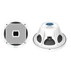 800 Watts 10'' Marine Subwoofer (White Color) Computer, Electronics
