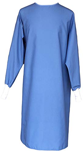 Avery Hill Washable Reusable Medical PPE Level 1 Isolation Gown for Dentists, Hygienists, Doctors, Nurses and Medical…