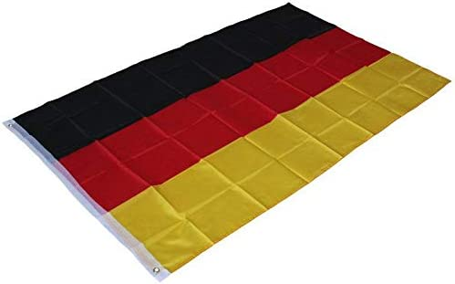 3ftx2ft Germany St George Cross Flag Premium Quality Vivid Color and UV Fade Resistant Canvas Header and Double Stitched Flag