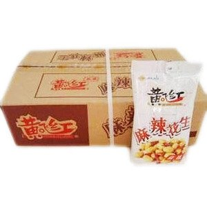 HuangFeiHong Spicy Snack Peanuts - 30 * 3.8 oz /110G 30 bags