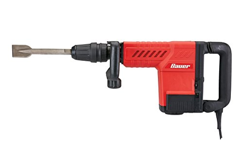 Bauer 12.5 Amp SDS Max Type Pro Demolition Hammer Kit (1631E-B)