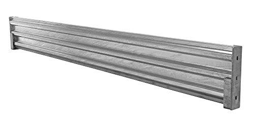 (Vestil GGR-LO-10 Galvanized Drop-In Structural Guard Rail, 113-7/8