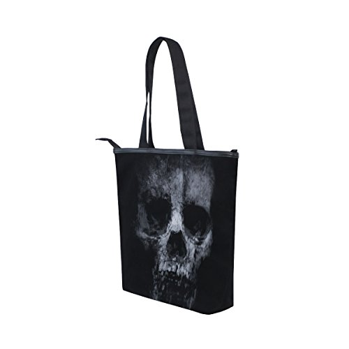 Handbag Bag Womens Shoulder MyDaily Canvas MyDaily Scary Tote Tote Skull wXaRzxqw