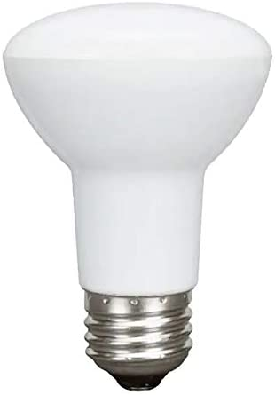 GE Classic 6-Pack 45 W Equivalent Dimmable Warm White R20 LED Light Fixture Light Bulbs