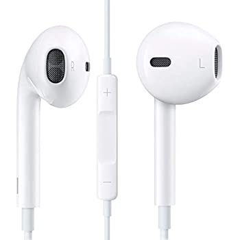 59e66762b8b Apple EarPods in-Ear Earbuds with Mic and Remote Earbud Headphones iPhone  iOS, White