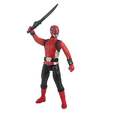 Power Rangers Beast Morphers Red Ranger 12-inch Action Figure: Toys & Games