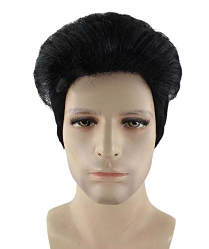 Halloween Party Online Doo Wop Wig, Black Adult HM-287 -