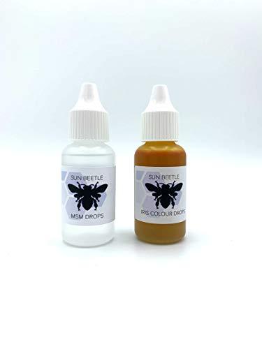 Sun Beetle Iris Colour & MSM Drops