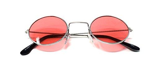 Hommes Elton UV400 Style Lentes Petit Retro John Lunettes Con de Plateado Lennon Qualité Adultes Unisexe Soleil Rondes Femmes Rosados Vintage Classique wFO71Pq
